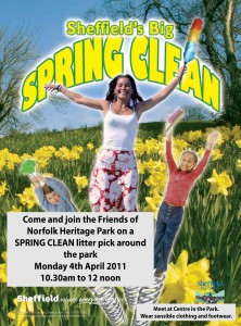 Norfolk Park Spring Clean