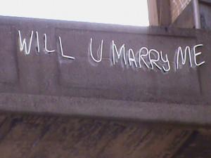 will u marry me