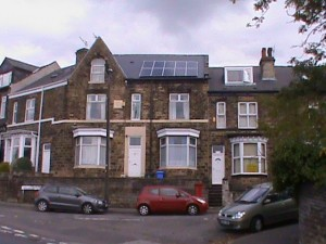 Claywood Road solar panels