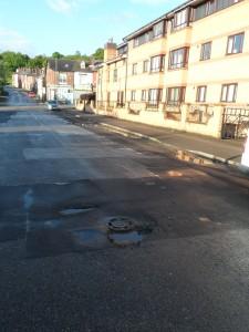Talbot Place pothole