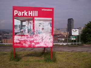 Urban Splash's Park Hill advert