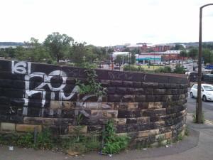 Graffiti Granville Street