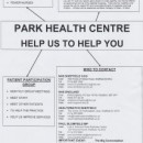 Link to Park Health Centre meeting