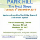 Link to Park Hill Meeting Tuesday 6th December 7pm
